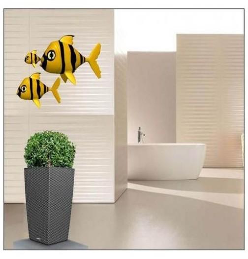 Sticker poissons en bande