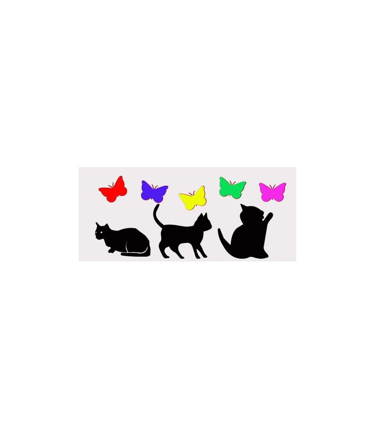 Sticker les chats