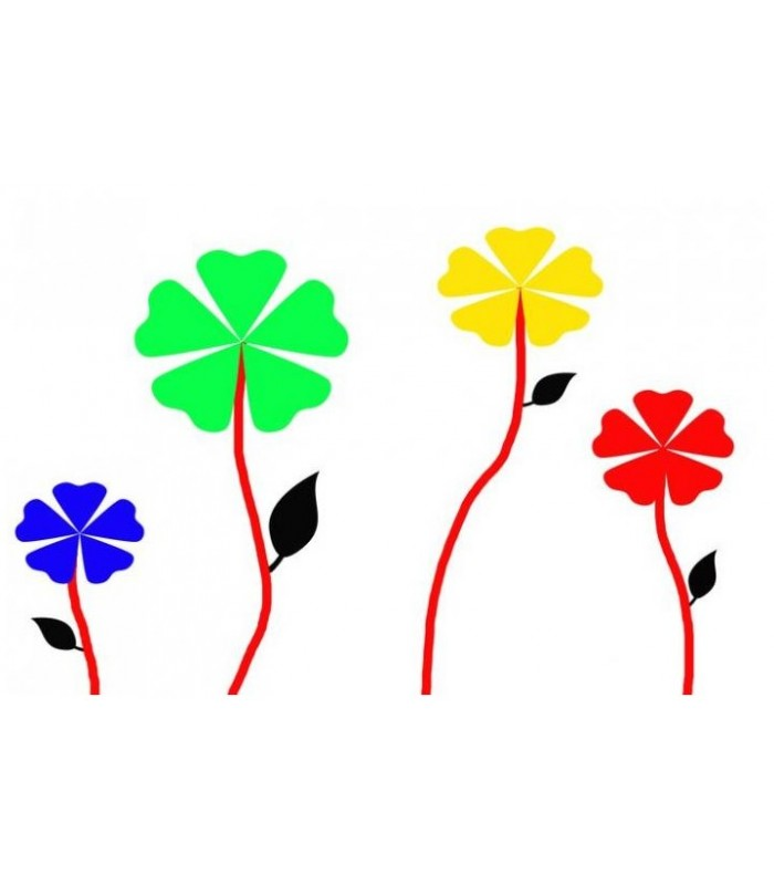 PAILLETTES Nº 1283 vert lianes Sticker Arc