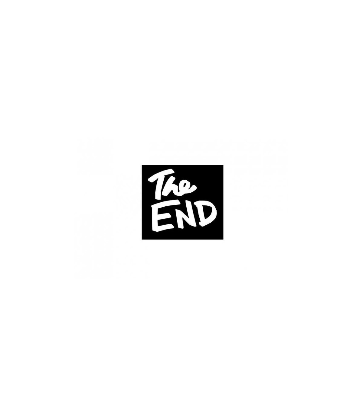 Sticker The End