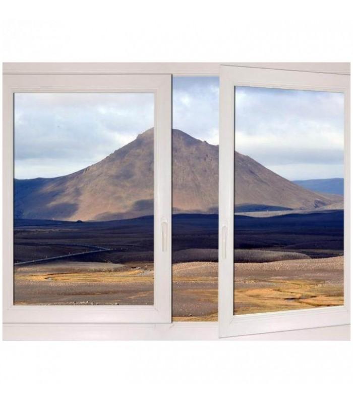 Trompe oeil montagne Islande