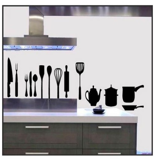 stickers cuisine originaux interesting idee de decoration de chambre with stickers cuisine. Black Bedroom Furniture Sets. Home Design Ideas