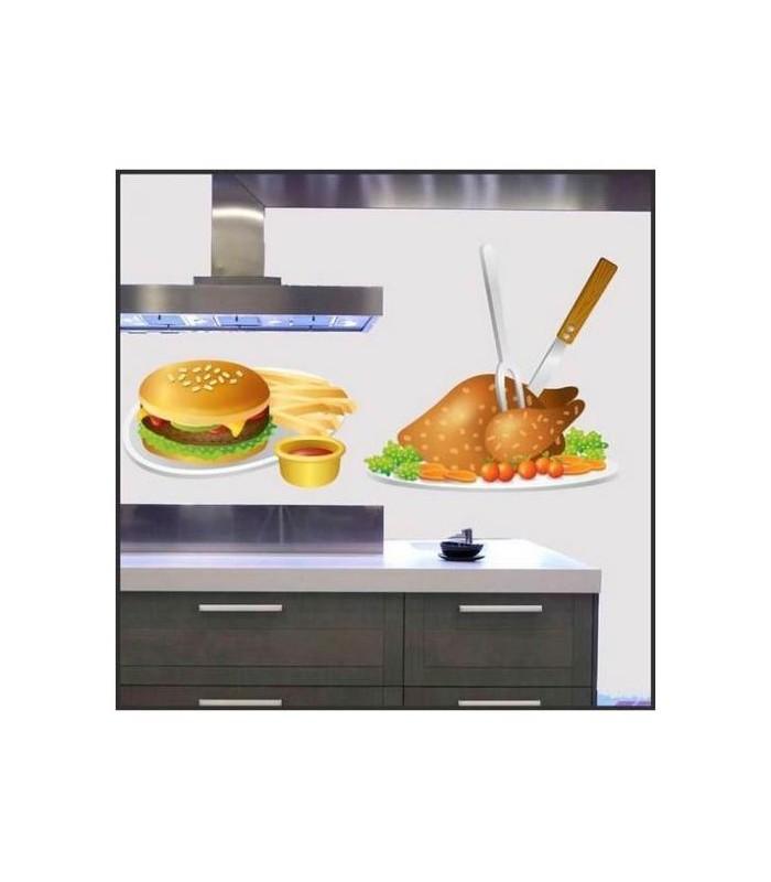 Deco de votre cuisine avec des stickers originaux sticker autocollant - Stickers cuisine originaux ...