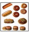 Le sticker cuisine donuts