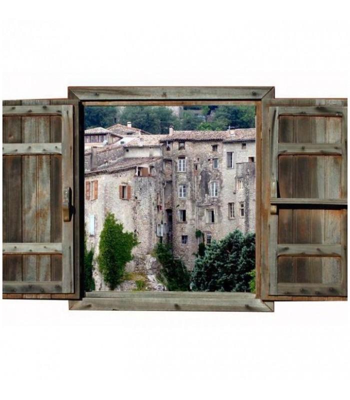 Photo Sauve trompe oeil village