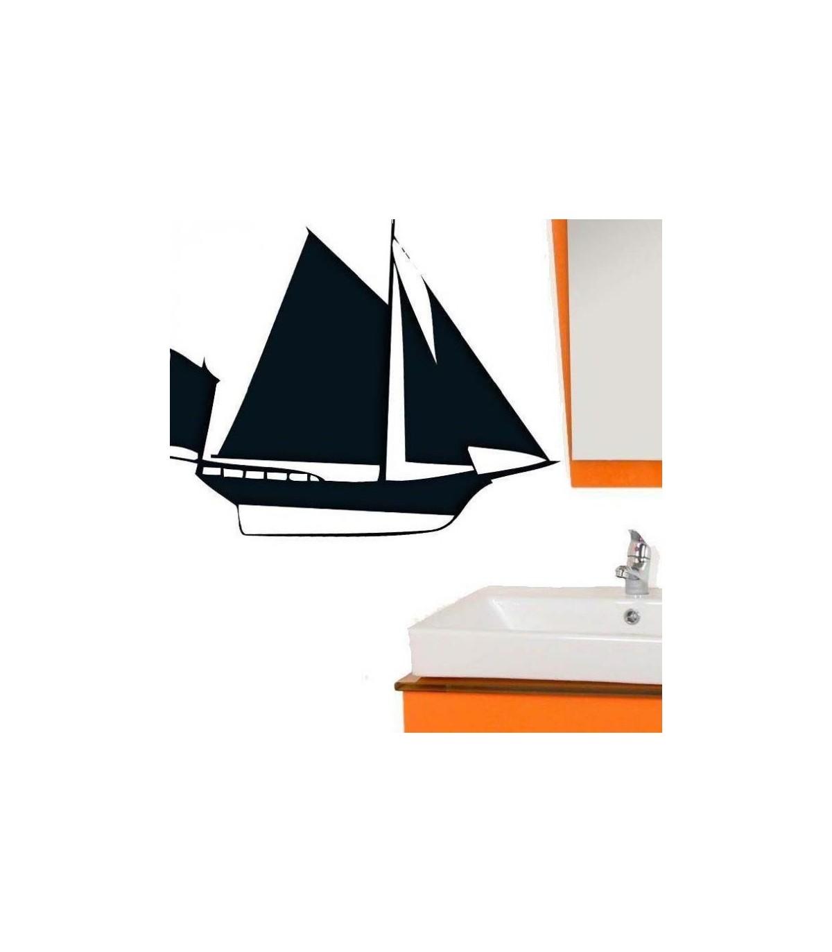 Le sticker bateau