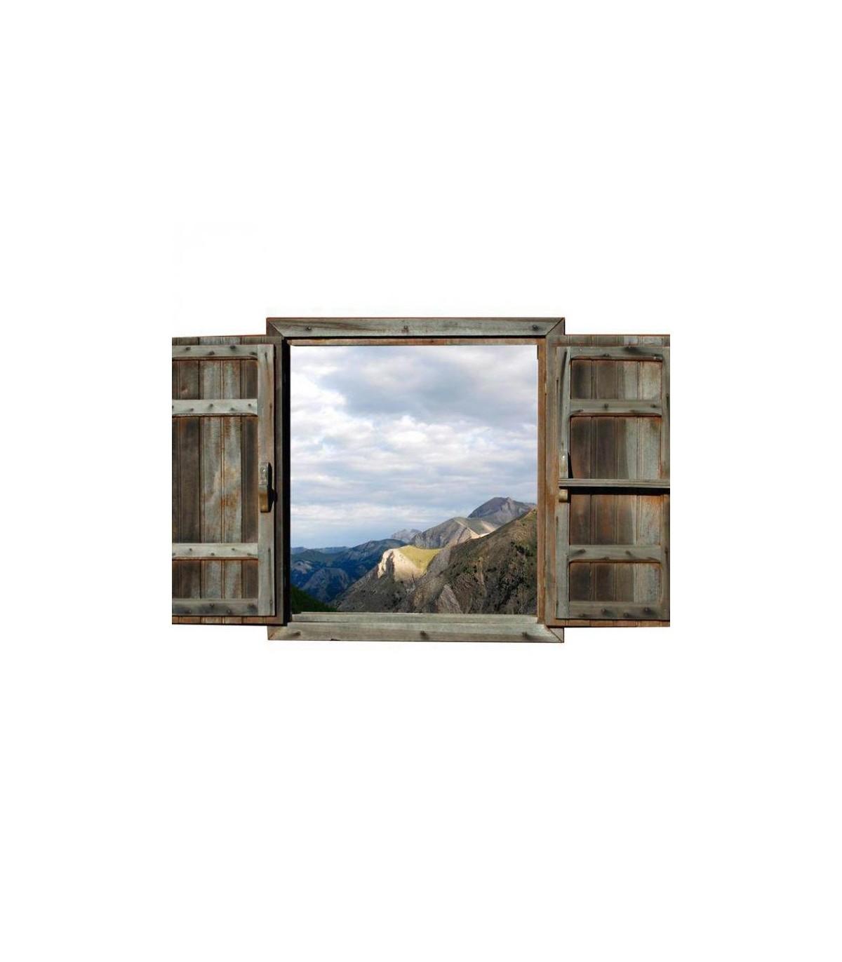 Trompe oeil paysages de montagne