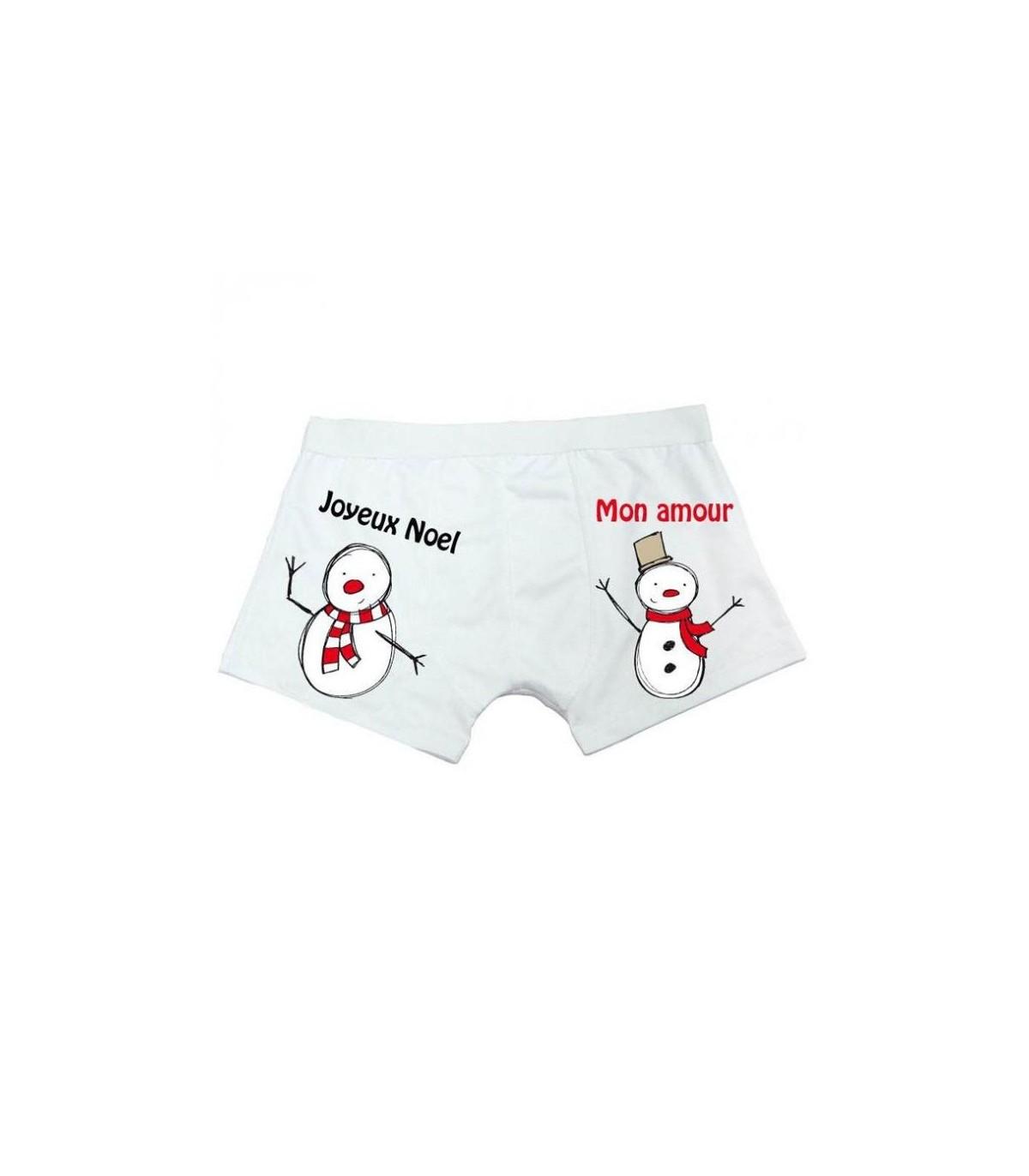 Cadeau special noël : le caleçon boxer pour homme pour fàter