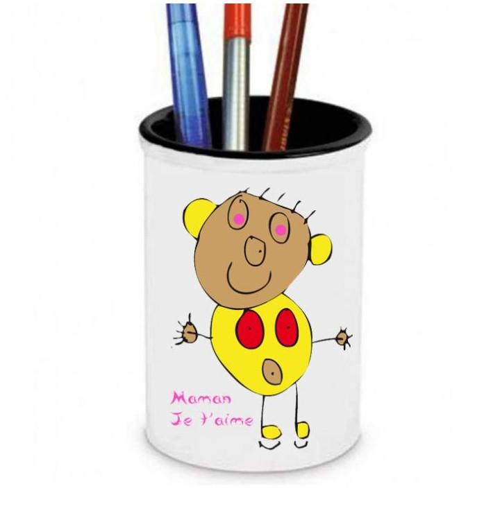 cadeau pot 224 crayons mug et tasse avec photo personnalis 233 s
