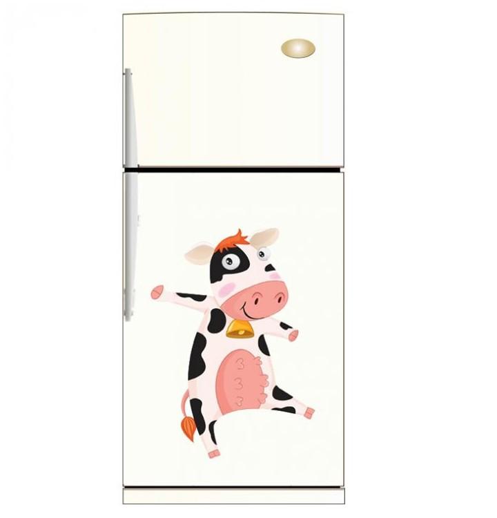 Sticker Vache Pour La Cuisine Stickers Pour Le Frigo De