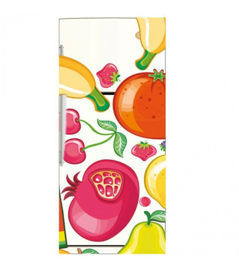 Sticker pour frigo : fruits et légumes