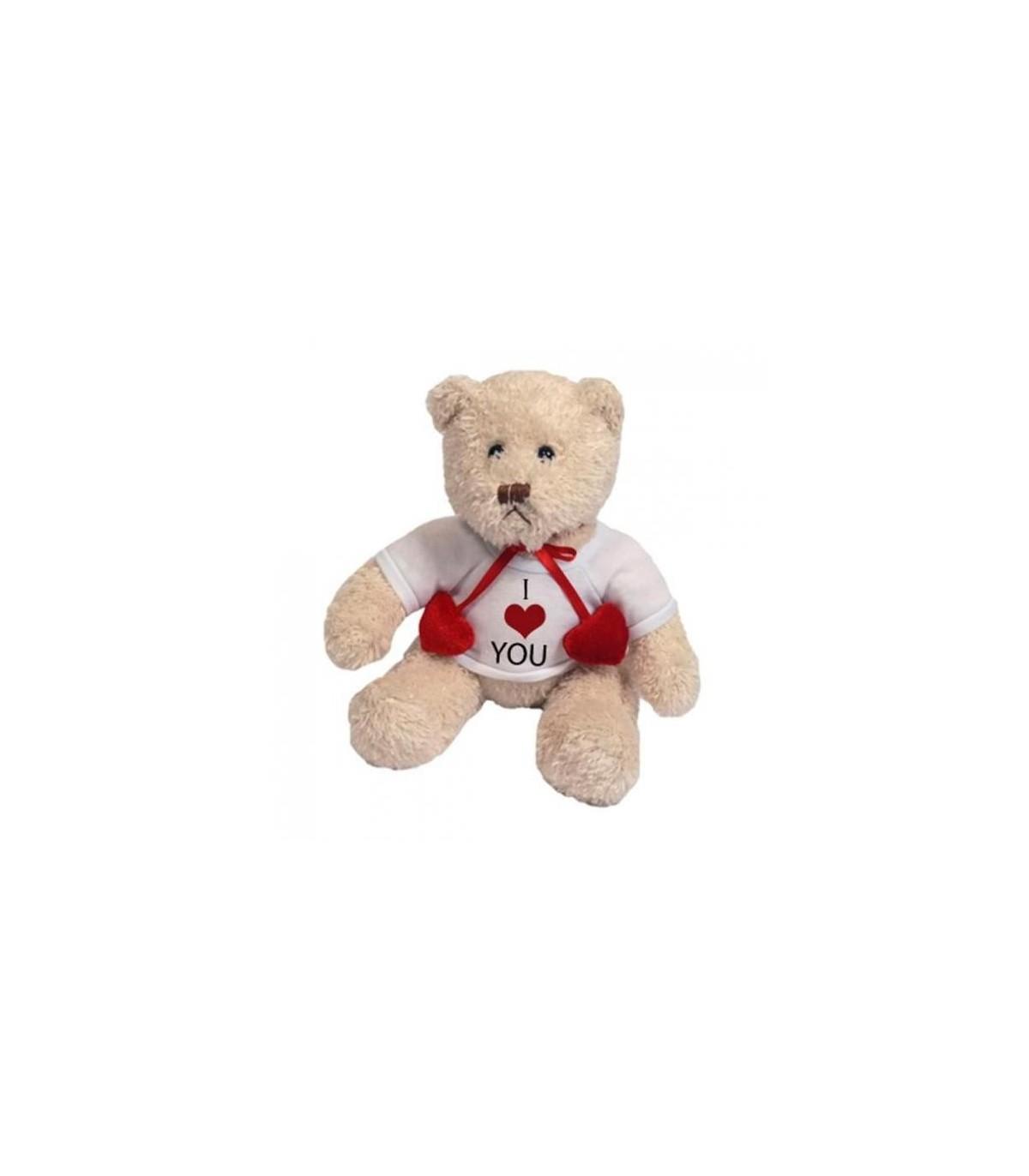 La peluche ours blanc personnalisée