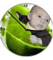 Horloge personnalisee ronde