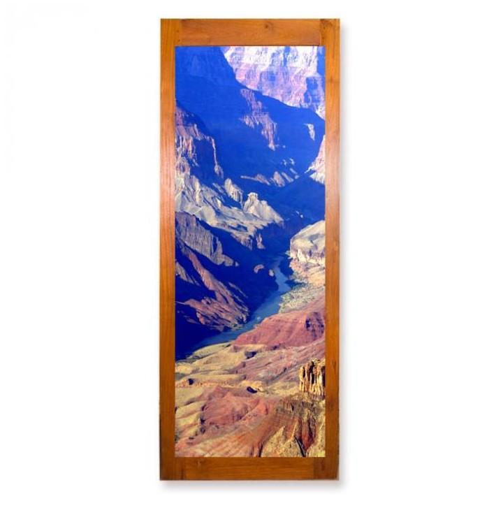papier peint personnalise pour porte de chambre transformation photo en papier peint. Black Bedroom Furniture Sets. Home Design Ideas
