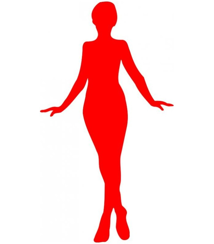 sticker silhouette