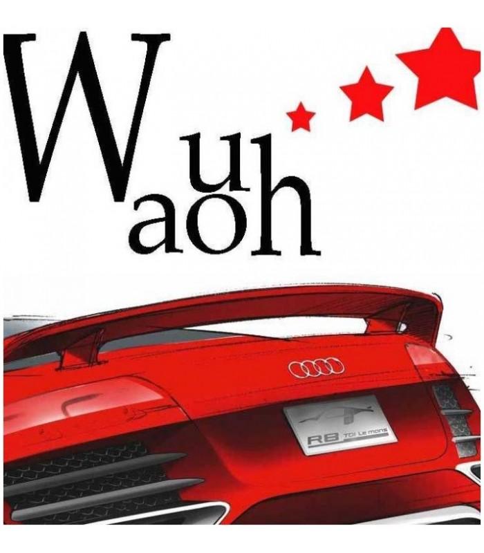 Sticker waouh