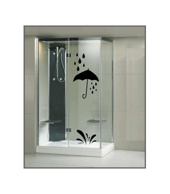 stickers pour la douche autocollants cabine de douche. Black Bedroom Furniture Sets. Home Design Ideas