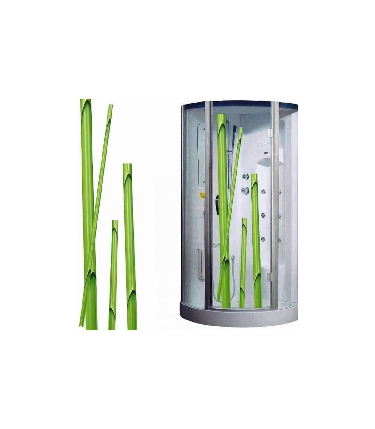 Sticker bambou pour la salle de bain, stickers decoration bambou