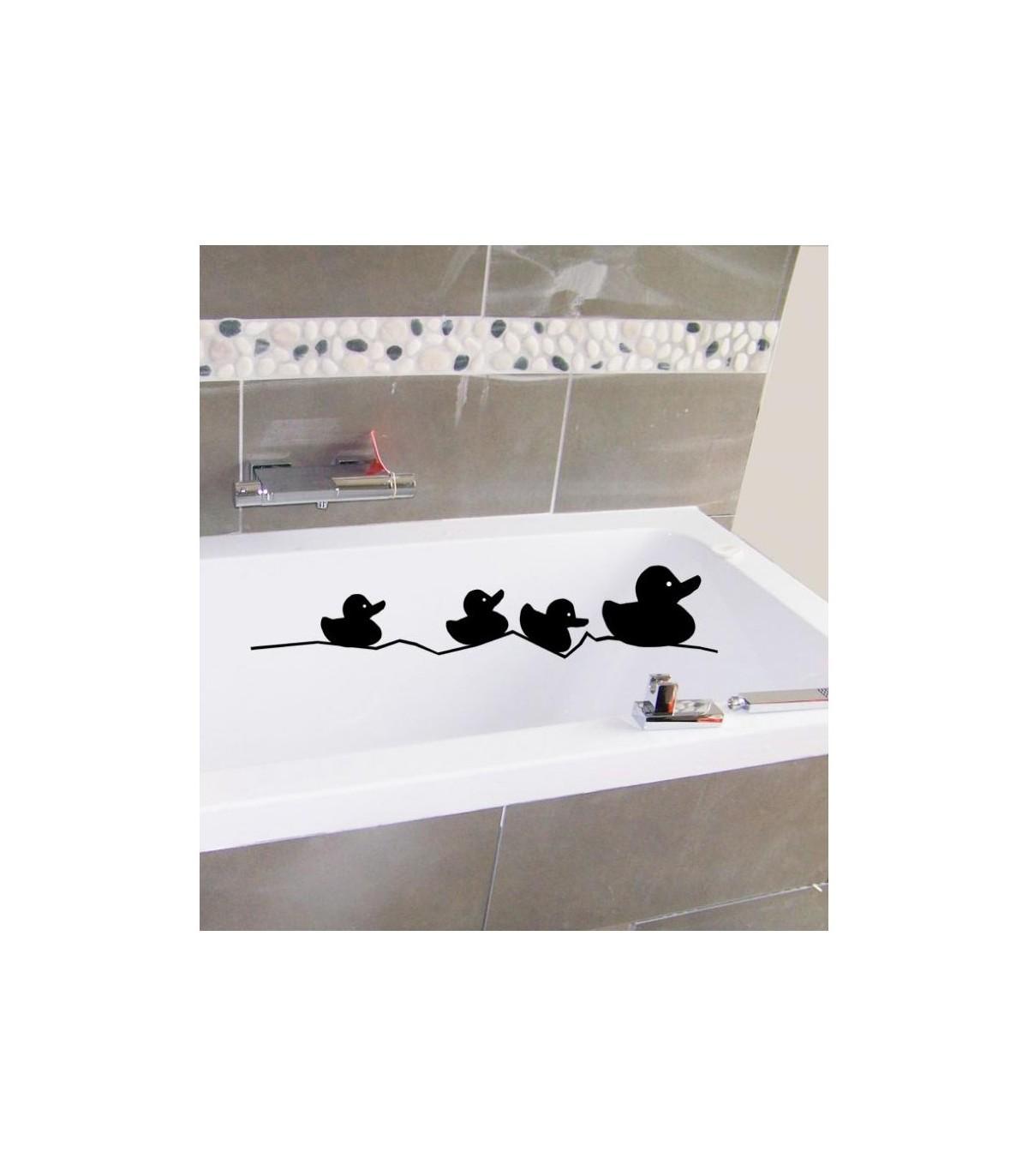 Baignoire Ceramique Pas Cher sticker canard pour la baignoire de salle de bain, stickers