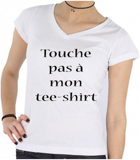 Tee shirt femme personnalisé photo