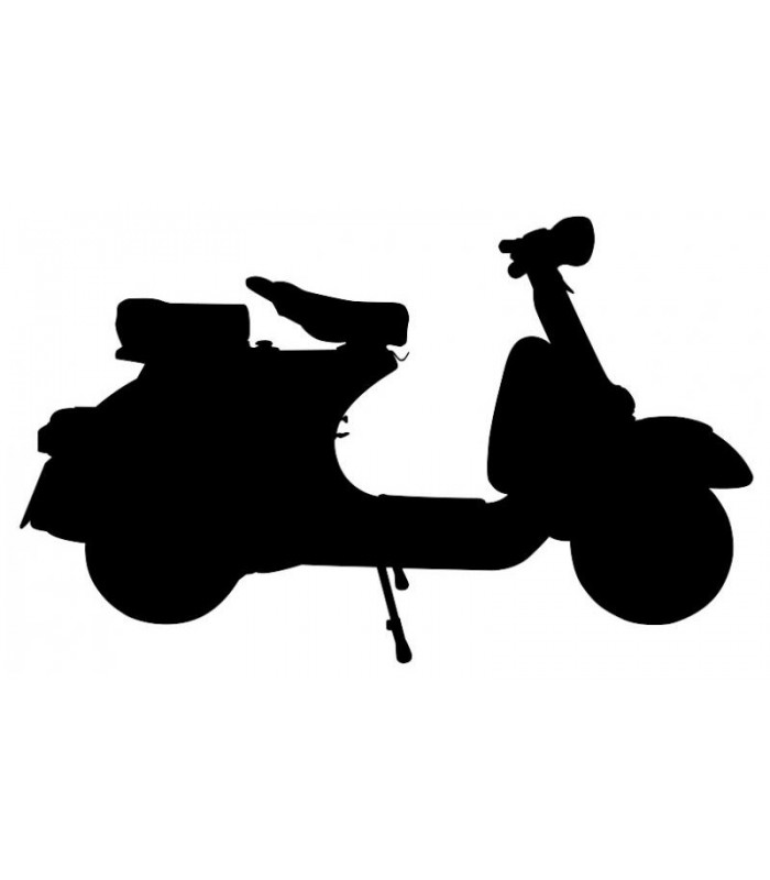 Sticker scooter