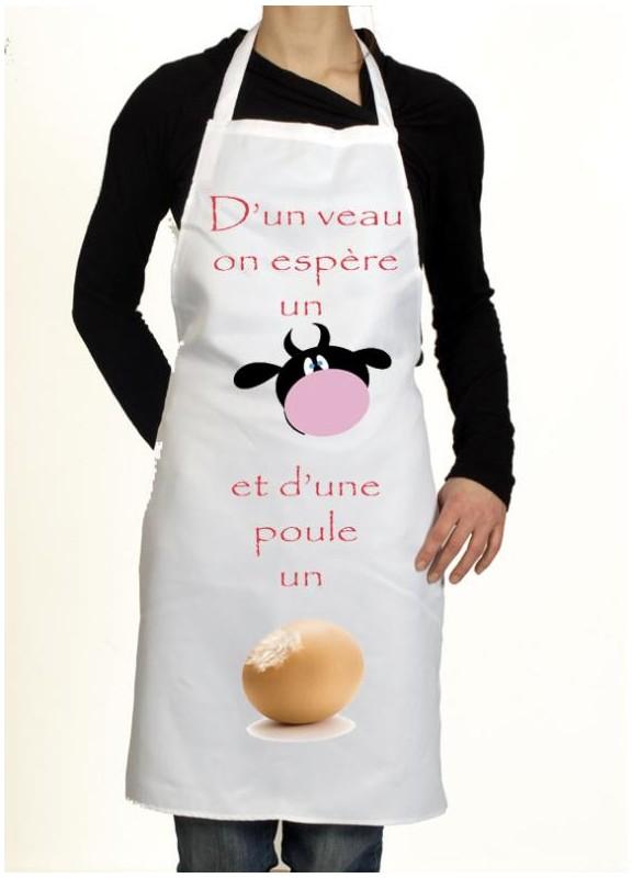 Tablier de cuisine personnalise pour homme et femme for Tablier de cuisine personnalise homme