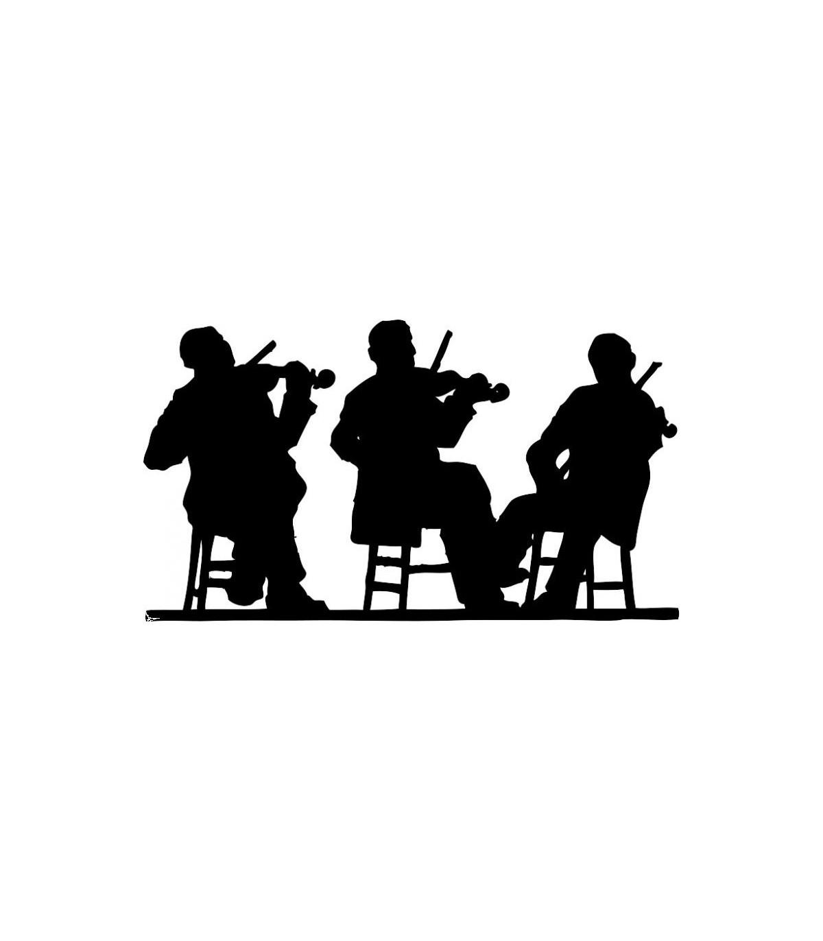 Sticker musiciens 2