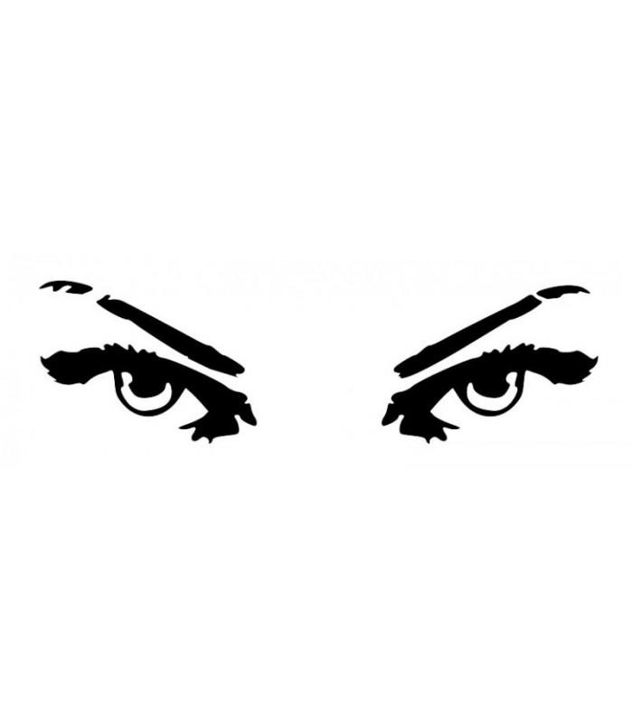 Sticker yeux