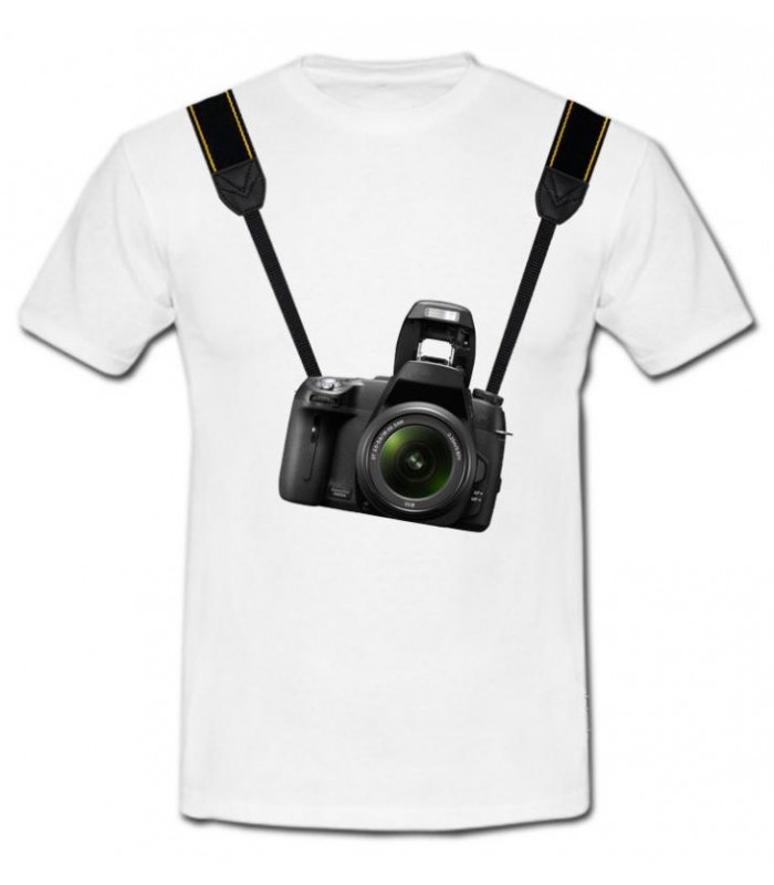 Tee shirt original appareil photo
