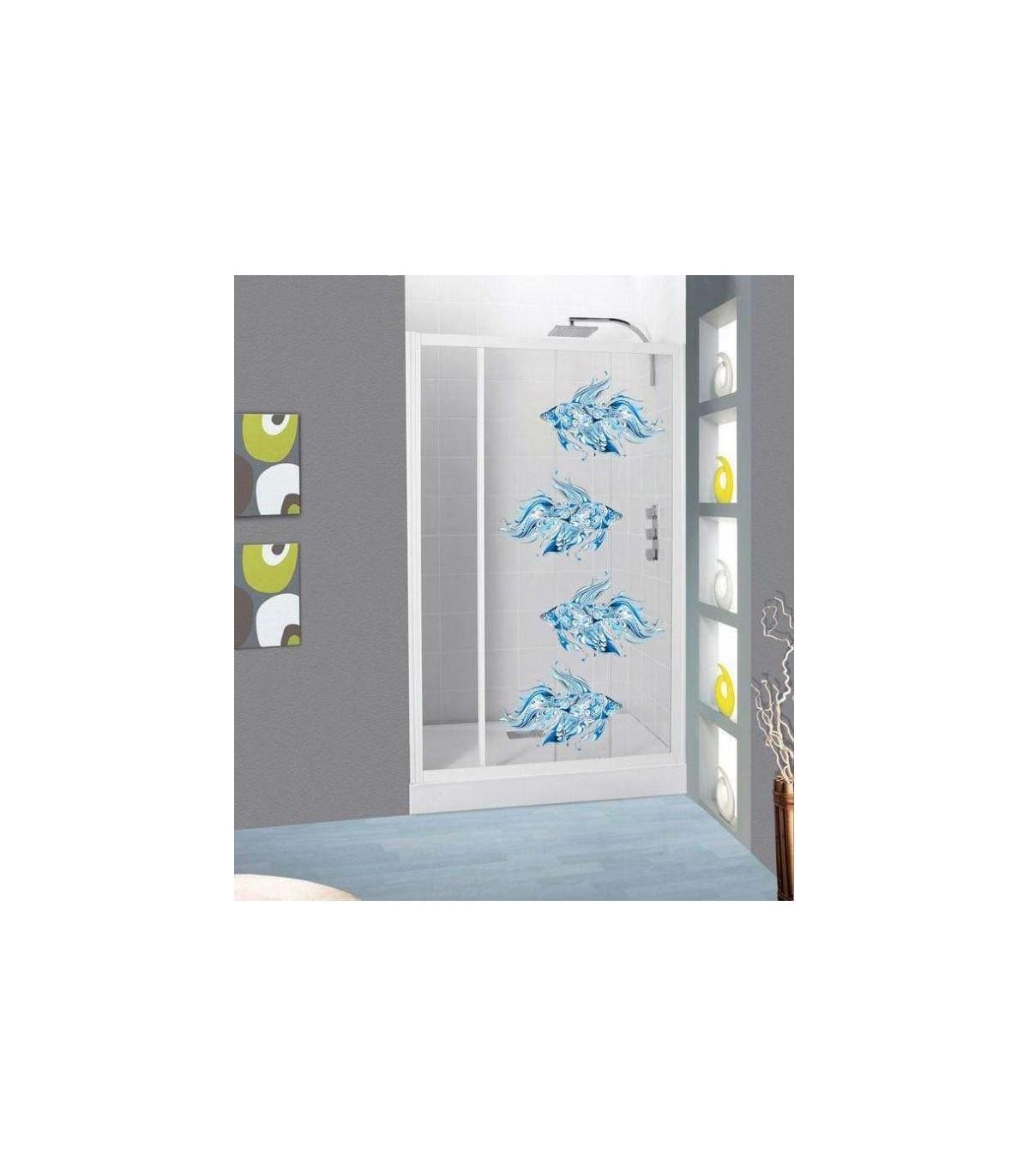 Sticker original et pas cher pour salle de bain et douche, b