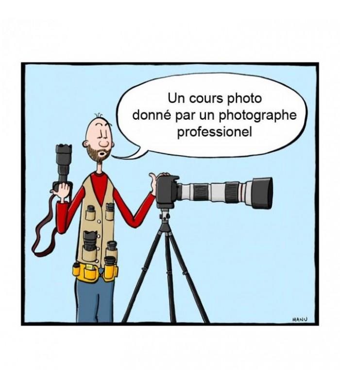 cadeau cours de photo