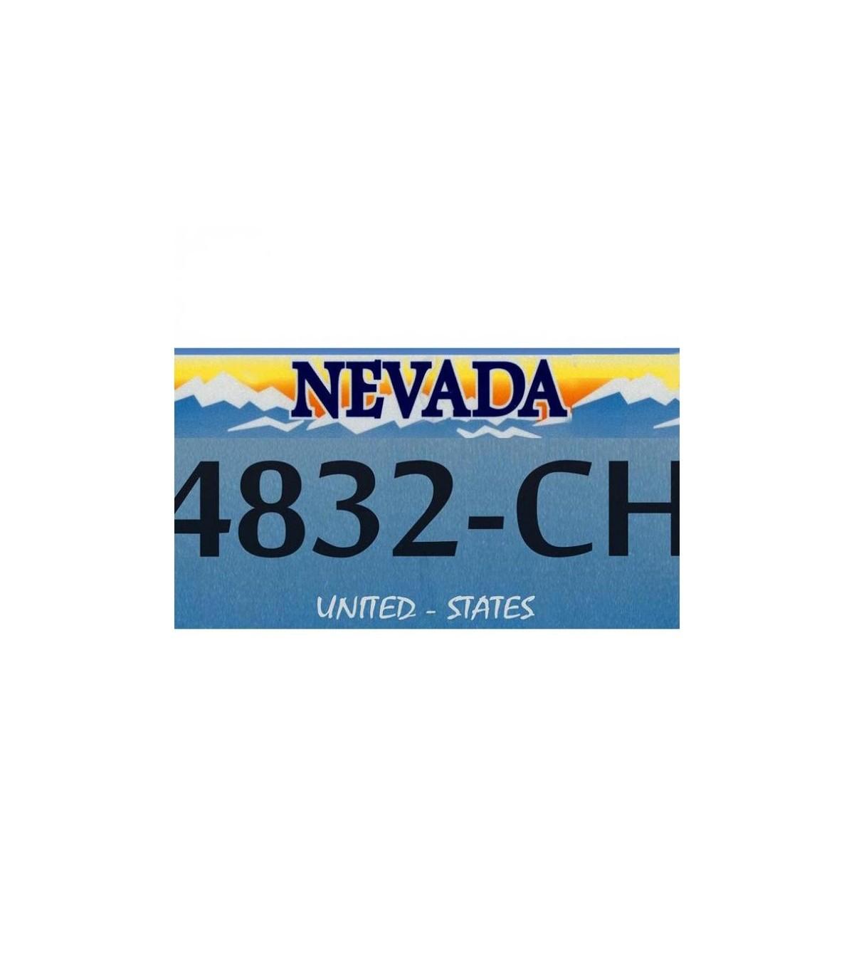 Plaque Us Nevada Pour Porte Cadeau Original Pour La Maison