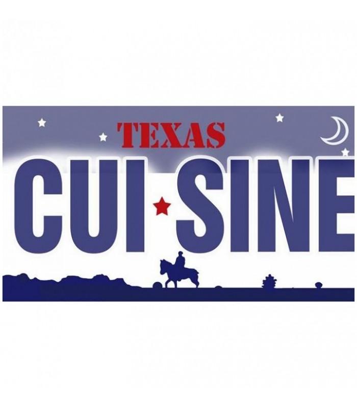 Plaque USA personnalisée, texas