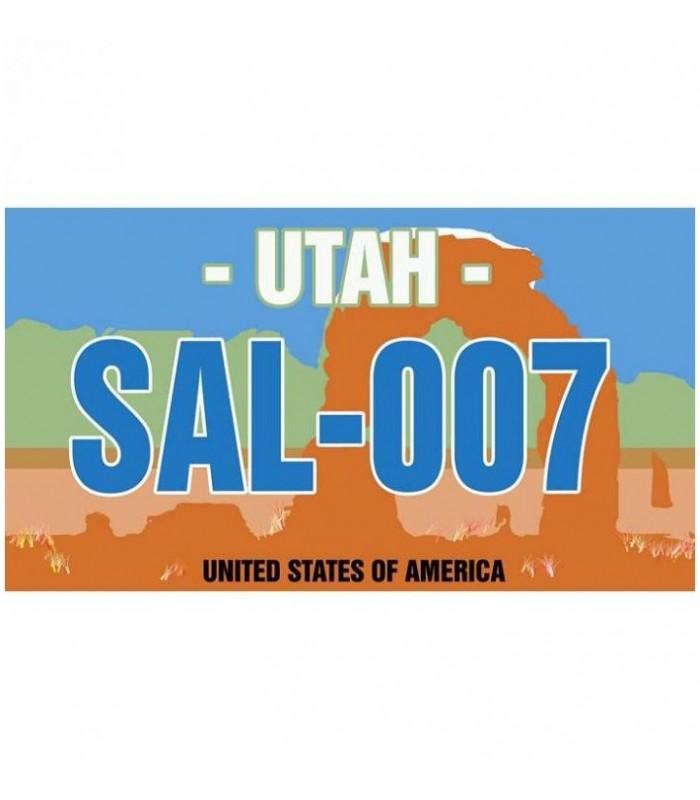 Plaque de porte USA, utah, personnalisation de plaque