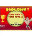 diplome personnalise rigolo homme