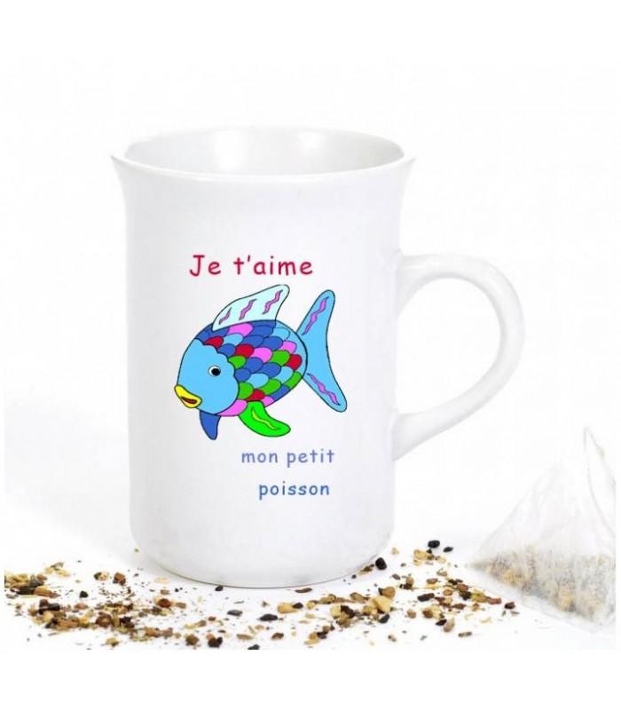 Tasse pour le thé personnalisée