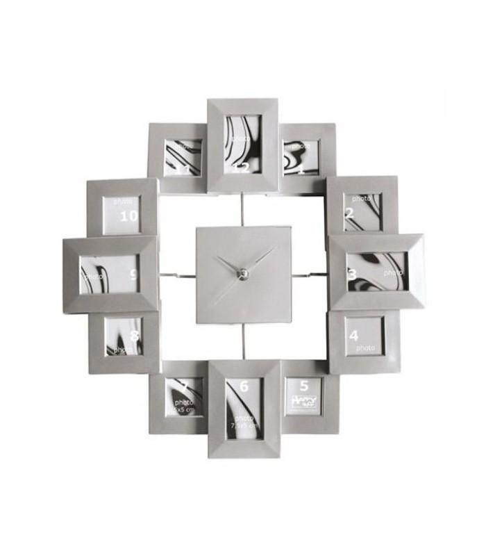 Horloge originale pour y ranger des photos, cadeau avec photo