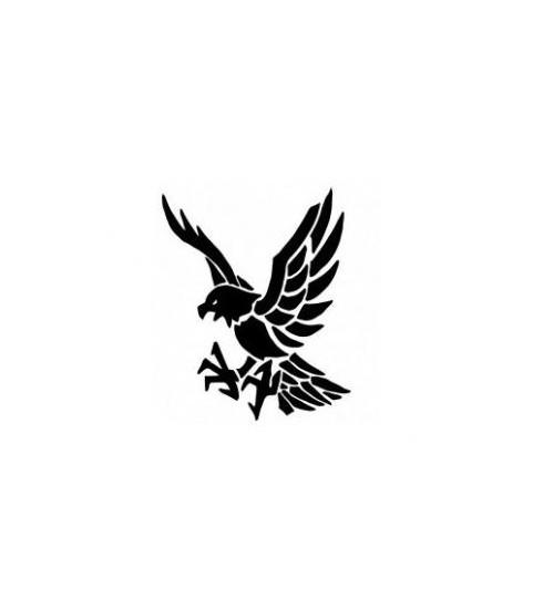 Tatouage aigle sur la peau, beau tatoo d'un aigle