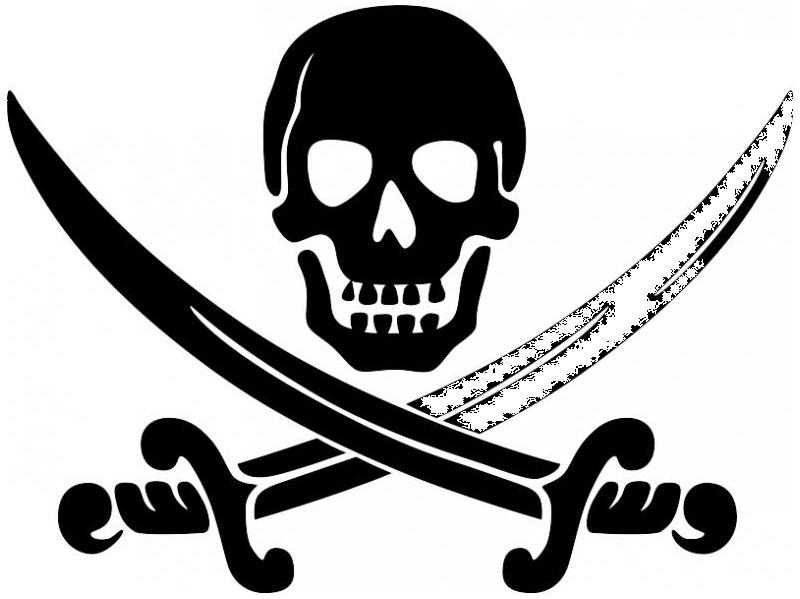 Sticker pirate