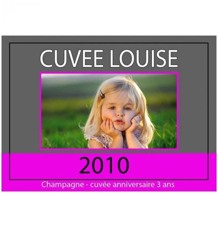 Personnaliser une tiquette de champagne ou de vin - Etiquette bapteme gratuite a imprimer ...