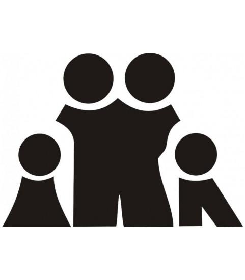 sticker famille