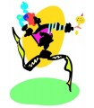 Sticker danse