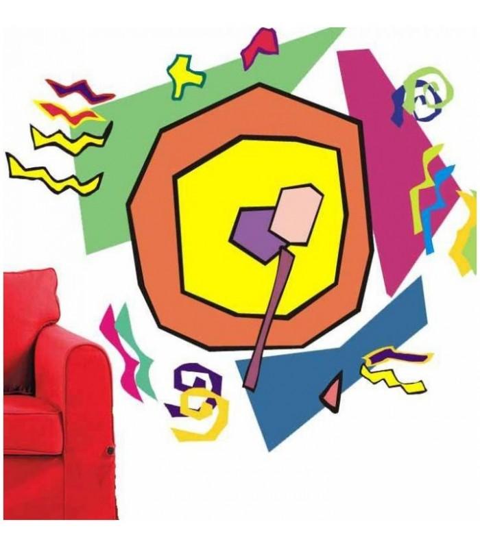 sticker multicolores