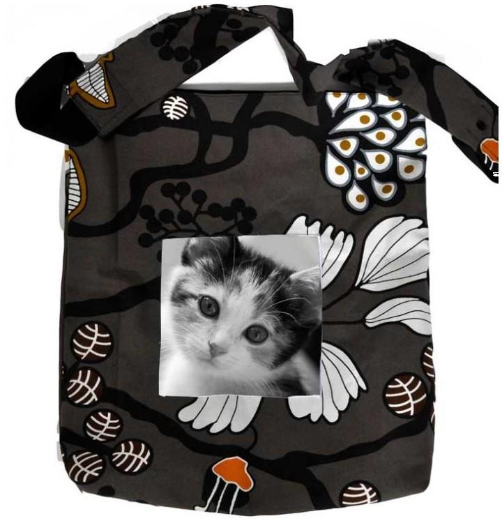 magnifique cadeau pour la femme avec ce sac en toile fait main et personnalis photo. Black Bedroom Furniture Sets. Home Design Ideas
