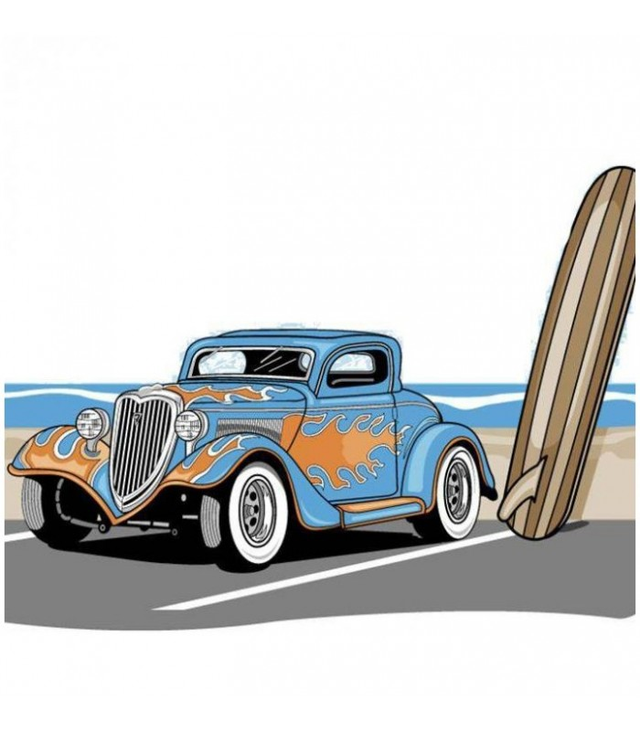 sticker voiture ancienne