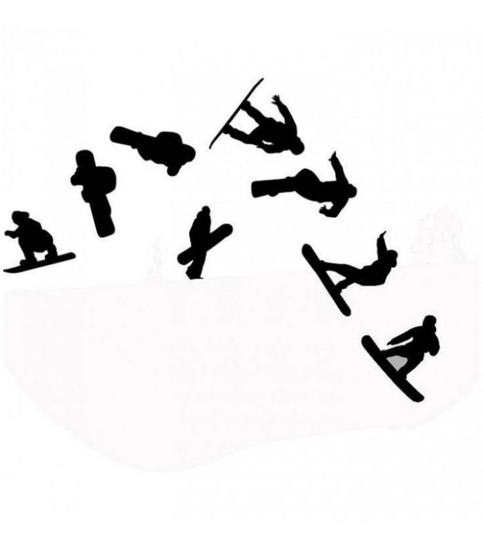 sticker skieurs