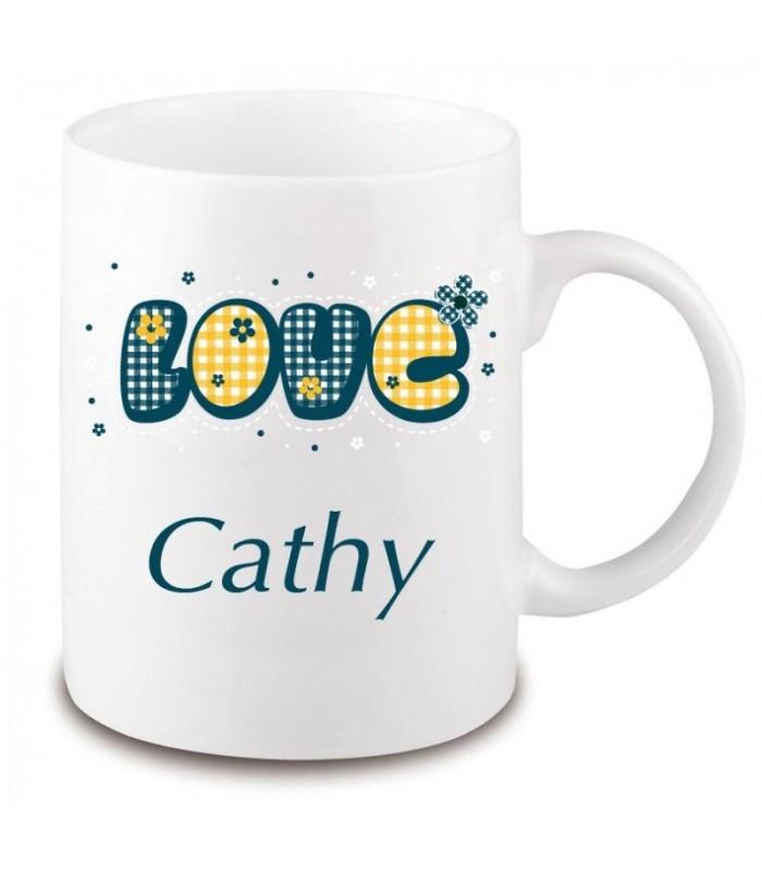 cadeau saint valentin, mug love et amour