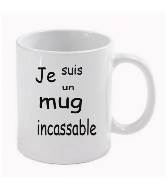 mug avec photo incassable