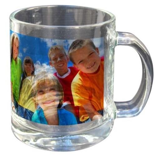 un mug transparent sur lequel nous imprimons la photo de. Black Bedroom Furniture Sets. Home Design Ideas