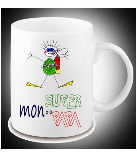 Mug photo avec dessin enfant